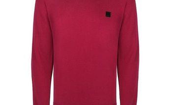 Pánský červený svetr Bench