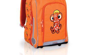 Sada pro školáka SET 131 J - Orange - aktovka, dvoupatrové pouzdro