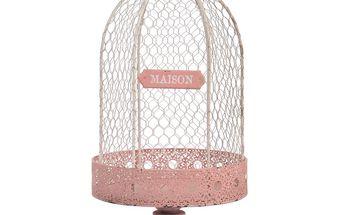 Ptačí klec Maison Pink
