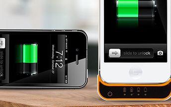 Externí baterie pro iPhone 4/4S nebo 5/5S: kryt a záložní akumulátor v jednom!