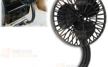 12V ventilátor do autozásuvky a poštovné ZDARMA! - 29308317