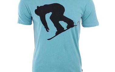 Pánské tričko se snowboardistou River Rock