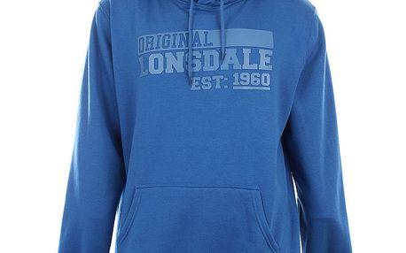 Pánská modrá klokaní mikina Lonsdale