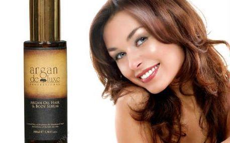 Zázračný marocký arganový olej na vlasy i pleť s exotickou vůní