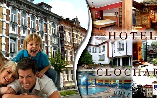 Prodloužený víkend na úpatí Krušných hor pro 2 osoby v hotelu Clochard ***
