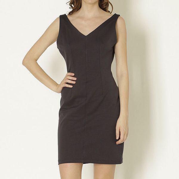 Dámské černé šaty bez rukávů Keren Taylor