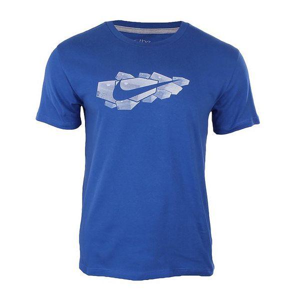 Pánské modré tričko Nike