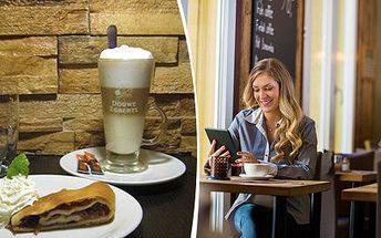 Kavárenské menu v Cafe bar Al Capone