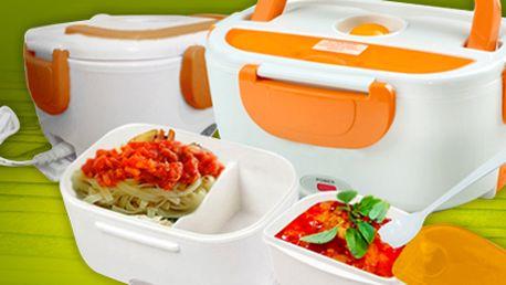 Přenosný ohřívací termobox na jídlo: teplé pokrmy i na cestách!