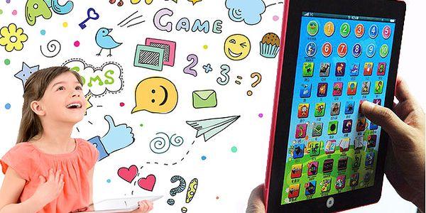 Dětský tablet pro angličtináře