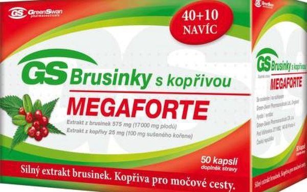 GS Brusinky Megaforte s kopřivou cps.40+10 navíc