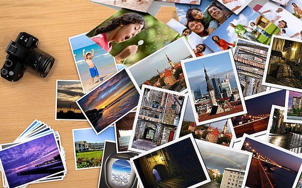 Tisk digitálních fotografií - až 108 kusů