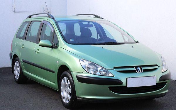 Peugeot 307 1.4, ČR, zámek řazení