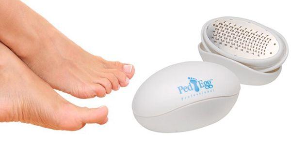 Chcete mít přes léto krásně upravené chodidla? Máme pro Vás jednoduché a praktické řešení za méně - Ped Egg. Vynikající a praktický pomocník při úpravě chodidel.