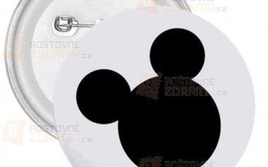 Placka Mickey Mouse a poštovné ZDARMA! - 30013938