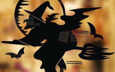 Halloweenská dekorace na okno a poštovné ZDARMA! - 29314036