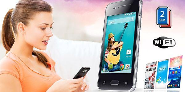 Chytrý a vybavený 3,5palcový telefon, Android,…