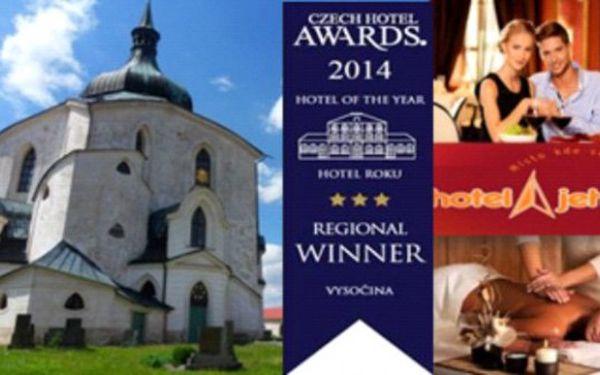 Cyklistická VYSOČINA Kvalitní hotel Jehla*** 3 dny s polopenzí pro 2 až do prosince 2014!