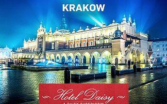 Polsko: 3denní pobyt pro dva v Krakově