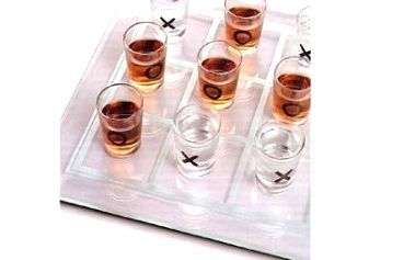 Zahrajte si se svými přáteli tyto alkoholové piškvorky! O zábavu bude postaráno pouze za 129 v naší akci!