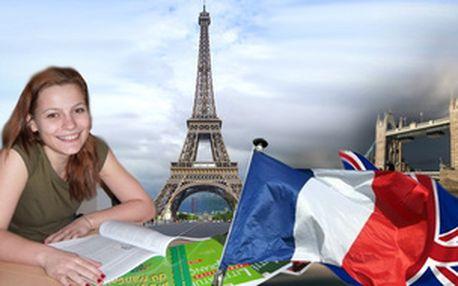 ANGLIČTINA nebo FRANCOUZŠTINA - individuální lekce jen vy a lektor - středa 19:00-20:30
