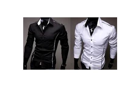 Pánská stylová košile Slim-fit