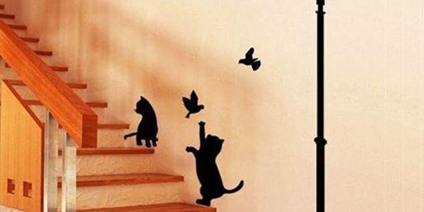 Samolepka na zeď Street dá každé místnosti nový nádech!
