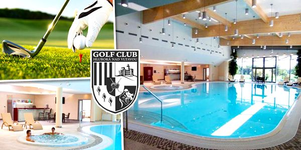 Zahrajte si golf v Hluboké nad Vltavou