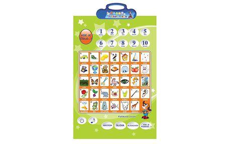 Naučná Pafíkova tabule pro děti