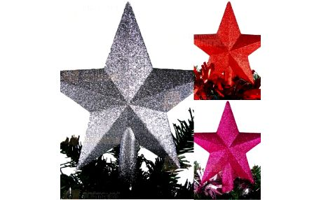 Vánoční hvězda - dekorace na stromeček a poštovné ZDARMA! - 29305234