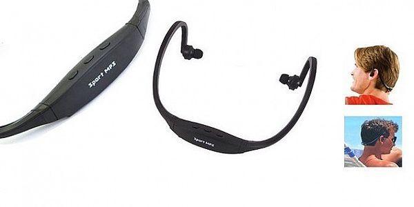 Sportovní MP3 přehrávač až 8 GB ve stylovém provedení vhodný pro aktivní jedince, například pro poslech při kondičním běhání, turistice, posilování!