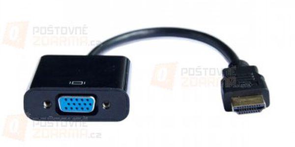 Redukce z VGA na HDMI a poštovné ZDARMA! - 29408096