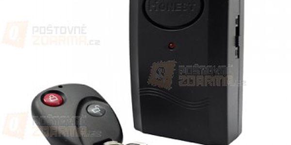 Motoalarm Honest s otřesovým čidlem + dálkové ovládání a poštovné ZDARMA! - 30102802