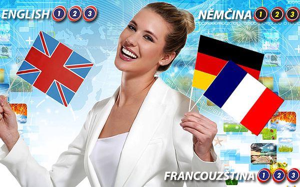 Roční online kurz anglického, německého a francouzského jazyka