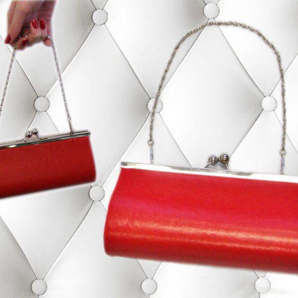 Stylová červená kabelka