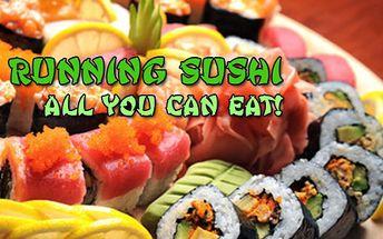 Running sushi exkluzivně v Karlových Varech s prodlouženou platností do konce února 2015! SUSHI All you can eat! Snězte, co sníte! Nepřeberná nabídka asijských specialit na XL jezdícím pásu v restauraci Asia & Sushi Restaurant v OC Fontána!