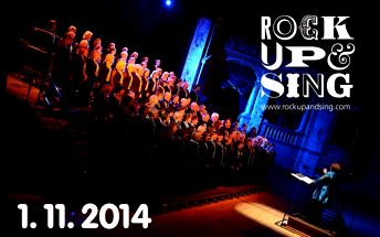 Koncert Rock up and Sing! – do Rudolfina bez saka