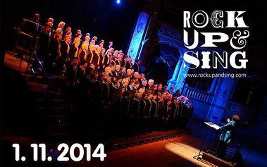 Koncert Rock up and Sing! – do Rudolfina bez saka