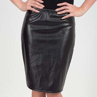 Dámská černá lesklá sukně Chaser