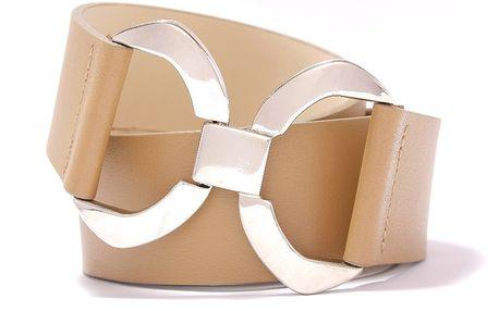 Nastavitelný kožený pásek Fall cappucino, 66 až 100 cm