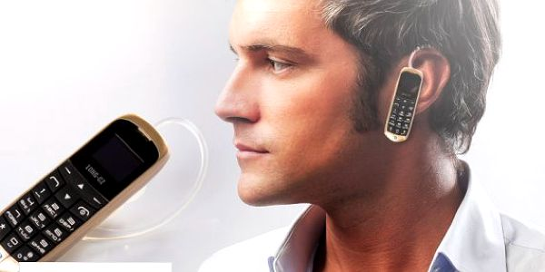 Bluetooth headset s mini telefonem