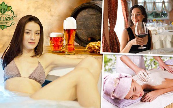 Pivní wellness pobyt v lázních Poděbrady!