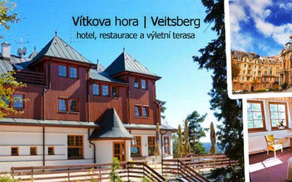 Pobyt v luxusním hotelu v Karlových Varech