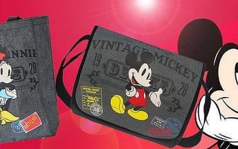 Retro tašky s komiksovým Mickeym či Minnií