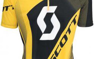 Scott SHIRT AUTHENTIC S-SL žlutá M