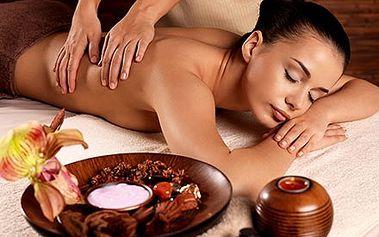 90 minutová celotělová relaxační masáž s podporou ...