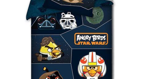 Halantex povlečení Angry Birds Star Wars bavlna 140x200 70x80