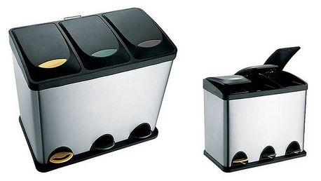 Odpadkový koš Toro 270230, 3x8L