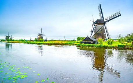 Bruggy, Antverpy, Amsterdam: 4denní zájezd s ubytováním