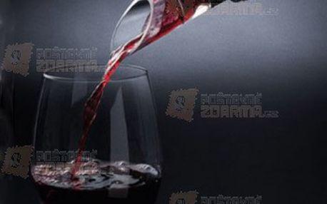 Stylová nálevka na víno a poštovné ZDARMA! - 29703058